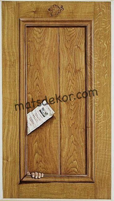 Oak tromp panel