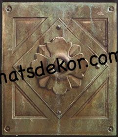 bronzrelief